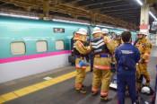【速報】東北新幹線、煙で緊急停止 携帯バッテリー、4人搬送