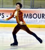 岩手大・佐藤が4位 フィギュアスケートプランタン杯