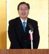 ILC、政治判断での実現訴え 公明・斉藤幹事長が来県