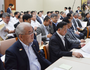 ILC誘致実現に向けて結束を高める岩手、宮城両県議会議員ら