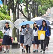 しとしと梅雨入り 県内、昨年より20日早く