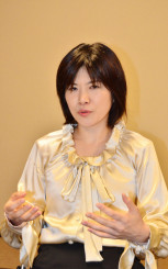 「自国の利益に動くトランプ氏に日本がうまく入り込めるかが重要だ」と指摘する小山花子准教授