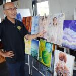 記事に題材、震災アート NIE全国大会で授業公開