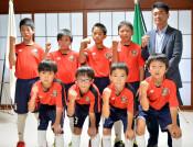 全国フットサル活躍誓う 盛岡のジュニアチーム