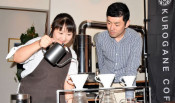 W杯盛り上げるコーヒー 釜石のカフェがブランド化