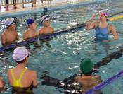 メダリストの泳ぎ間近に 奥州・江刺でリオ五輪銅の星さん指導