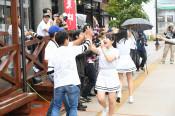台風被災地に歌で元気を 岩泉、福島のアイドルらライブ