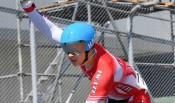 中野(早大、紫波総合高出)優勝 自転車成年男子スプリント