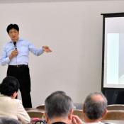 名捕手・久慈次郎誇りに 盛岡で生誕120年記念講演会