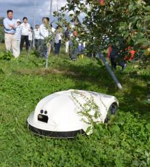和同産業が開発したロボット草刈り機
