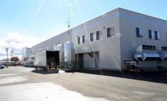 既存施設の北側に工場を増設したフジキン=31日、奥州市江刺岩谷堂