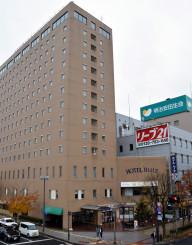 来年2月で営業を終えるホテルルイズ。解体後の跡地にはダイワロイネットホテルが開業する