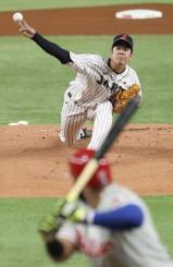 第3戦に先発した多和田真三郎