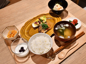 #iwate_iroiro④管理栄養士特製の「復興米」定食