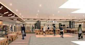 さわや書店ラビナ店の完成イメージ図(さわや書店提供)]