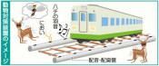 列車衝突抑止へ実験 JR山田線、蜂の羽音や臭い使用