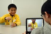 動画作り「上手にできた」 一戸、子どもたちが挑戦