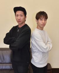 多彩な演技が魅力の「BLUE TOKYO」の藤田朋輝さん(左)と佐藤喬也さん。佐藤さんは紅白歌合戦に出演する