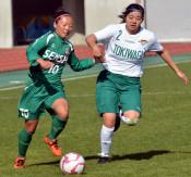 専大北上8強ならず サッカー全日本高校女子選手権