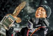 陵侑、完全制覇の偉業 ジャンプ週間総合V