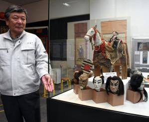 大迫町を拠点に全国で興行した亀花一座を紹介する企画展