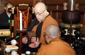 作様「全体的に豊作」 平泉・毛越寺で新春行事