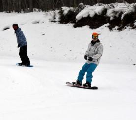 2019年度に廃止を含めた在り方を検討する方針のひめかゆスキー場=奥州市胆沢