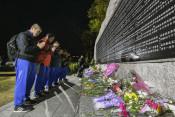 阪神大震災、野田中生も祈り 兵庫訪問、教訓分かち合う