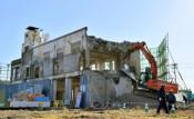 【速報】大槌旧庁舎解体始まる