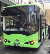 県交通、電気バス運行へ 2月から盛岡中心部で