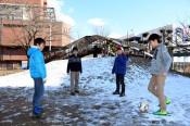 県内平野部、雪少ない傾向 盛岡ではスキー学習縮小