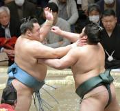 錦木、ワースト6連敗 大相撲初場所10日目