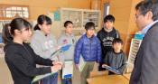 豪雨と津波、教訓刻む 3月閉校の岩泉・浅内小、発表へ