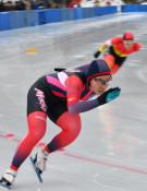 熊谷(盛岡工)500制す 全国高校スケート