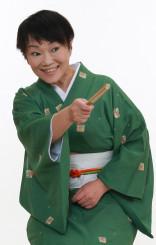 2月9日に花巻市で開かれる寄席に出演する六華亭遊花さん
