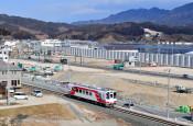 まちの風景に新車両 三鉄・宮古-釜石間、試運転スタート