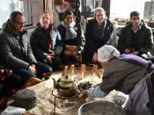 日本在住外国人、山村を体感 久慈、三陸モニターツアー始まる
