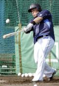 山川「強く振るのが僕の形」 プロ野球キャンプイン