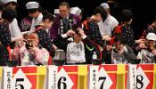 わんこそば242杯平らげ6連覇 花巻で全日本大会