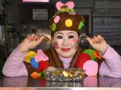 コスプレ接客、笑顔届け 普代の女性、がん経験契機に奮起