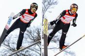 小林兄弟ら日本5位 W杯スキー・ジャンプ男子団体