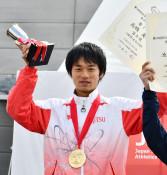 高橋、残り500メートル底力 日本選手権競歩5連覇