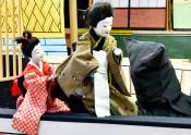 倉沢人形歌舞伎、観客を魅了 雫石で特別公演