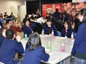 英会話を磨き夢広げる 矢巾、高校生のスキル研修