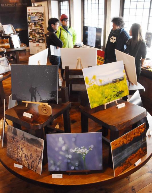 八幡平市内の四季折々の表情を伝える写真展