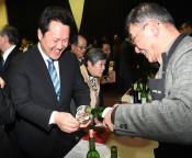 ブドウ生産者と乾杯 花巻でワインを楽しむ夕べ