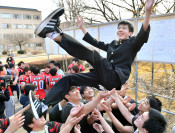 努力咲く歓喜の春 岩手大合格者発表