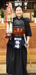 第41回日本剣道少年団研修会体験・実践発表会の小学生の部で最優秀賞に輝いた橋場円さん