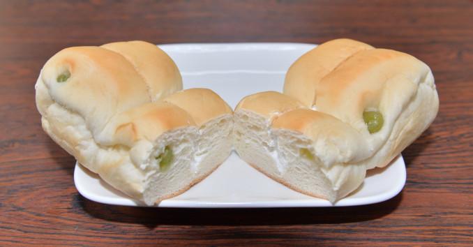 あまじょっぱい味が特長のさんてつ応援パン