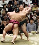 錦木4勝止まり、最少タイ 大相撲春場所千秋楽